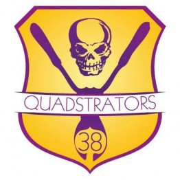 logo roller derby grenoble quadstrators