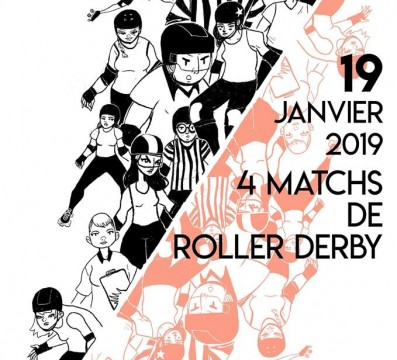 4 MATCHS ROLLER DERBY TOULOUSE MY ROLLER DERBY