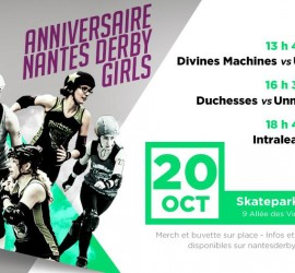 ANNIVERSAIRE NANTES DERBY GIRLS