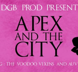 APEX AND THE CITY BESANCON VOODOO VIXENS MY ROLLER DERBY