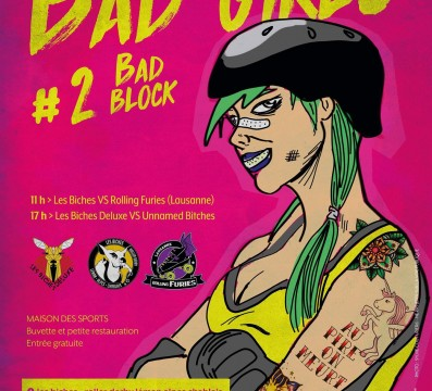 BAD GIRLS 2 BAD BLOCK ROLLER DERBY THONON