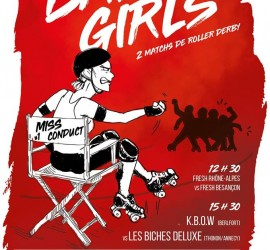 Biches Roller Derby Bad Girls