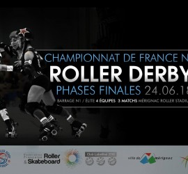 BARRAGES ROLLER DERBY ELITE NATIONALE 1