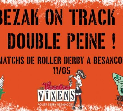 BEZAK ON TRACK MY ROLLER DERBY BESANCON