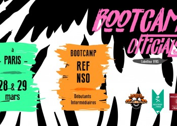 BOOTCAMP OFFICIALS PARIS ROLLER DERBY