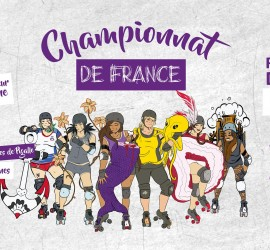 championnat france nationale 2 BREST MY ROLLER DERBY