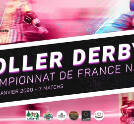 Championnat france roller derby LYON Nationale 2 zone 4 MYROLLERDERBY