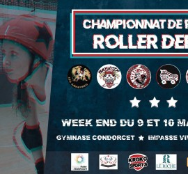 CHAMPIONNAT ROLLER DERBY NATIONALE 2 ZONE  MY ROLLER DERBY
