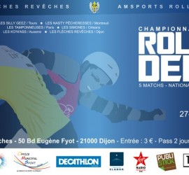 CHAMPIONNAT NATIONALE 2 ROLLER DERBY DIJON ZONE 4