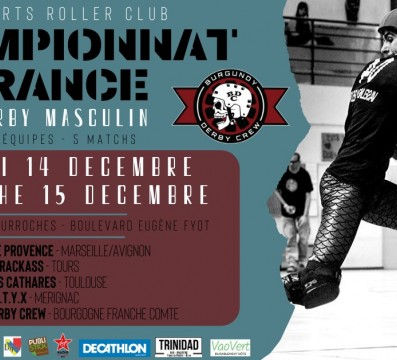 Championnat roller derby masculin MY Dijon Nationale 1 Sud