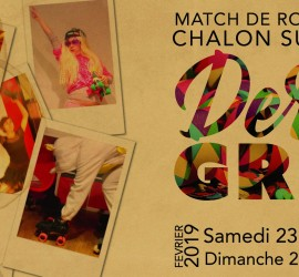 DERBY GRAS CHALON MY ROLLER DERBY