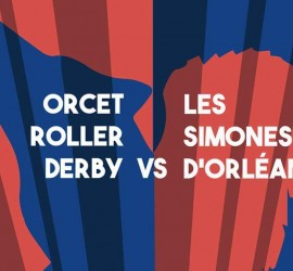 DOUBLE HEADER ORCET MY ROLLER DERBY ORLEANS