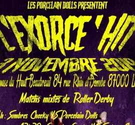 EXORCE HIT MY ROLLER DERBY LIMOGES