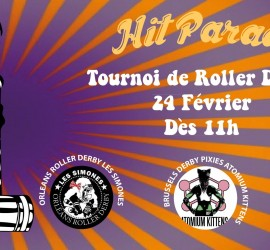 HIT PARADE REIMS MY ROLLER DERBY