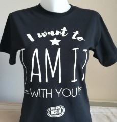 "Tshirt ""I wanna Jam it with you"" #15€"