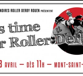 IT's Time for Roller Derby - Rouen Veuves Noires My Roller Derby