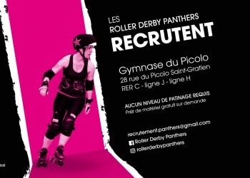 Les panthers roller derby recrutent