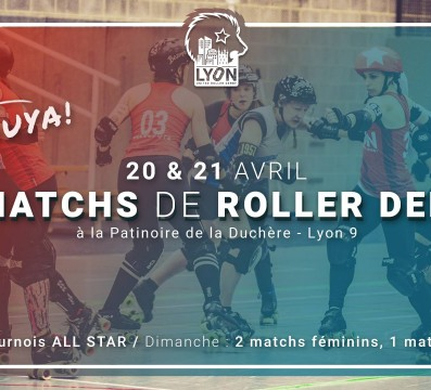 LURD PAQUES MY ROLLER DERBY LYON