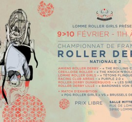 Nationale 2 Zone 2 Etape 2 Championnant My Roller Derby