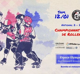 NATIONALE 2 ZONE 4 PLATEAU 2 CHAMPIONNAT ROLLER DERBY