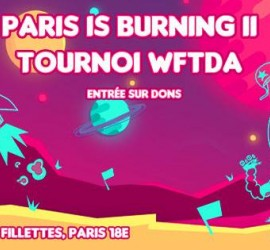 PARIS IS BURNING MY ROLLER DERBY LA BOUCHERIE DE PARIS