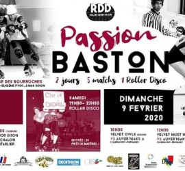 PASSION BASTON DIJON MY ROLLER DERBY