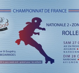 CHAMPIONNAT ROLLER DERBY NATIONALE 2 ZONE 6