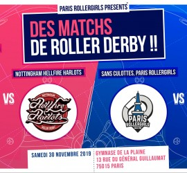 PRG matchs phoenix hell Fire MY ROLLER DERBY Paris