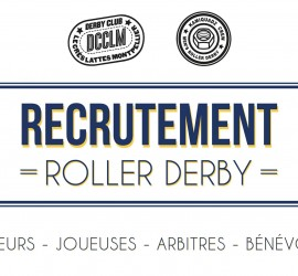 RECRUTEMENT DCCLM ROLLER DERBY
