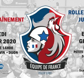 ROLLER DERBY JUNIOR DIJON MY ROLLER DERBY MATCHS EQUIPE DE FRANCE