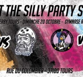 SILLY PARTY MY ROLLER DERBY TOURS