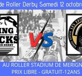 SPRING BLOCKS VS PASSEUSES D'AMES MY ROLLER DERBY MERIGNAC