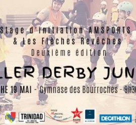 STAGE ROLLER DERBY JUNIOR DIJON MY ROLLER DERBY