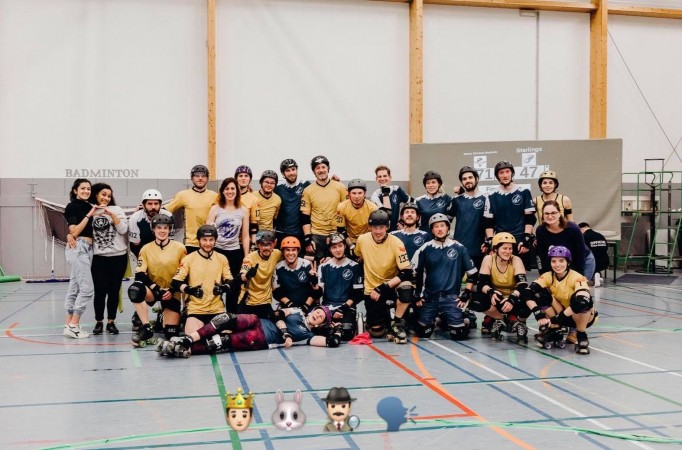 STARLING CAEN MIXED ROLLER DERBY