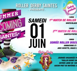 SUMMER IS COMING SAINTES MY ROLLER DERBY