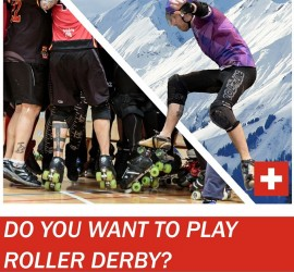 SWISS MEN DERBY PRACTCE MY ROLLER DERBY