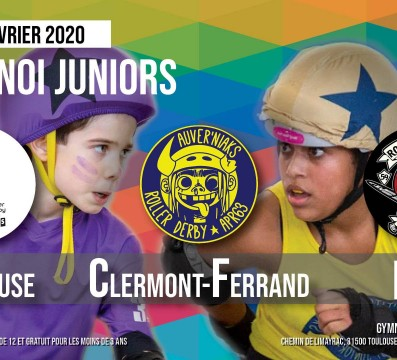Tournoi juniors TOULOUSE my roller derby