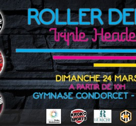 TRIPLE HEADER NIMES MY ROLLER DERBY