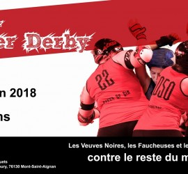 TRIPLE HEADER ROLLER DERBY ROUEN