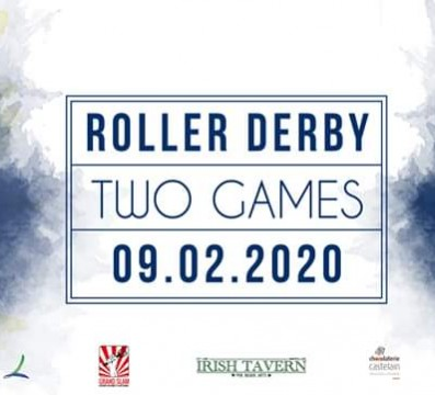 TWO GAMES DDCLM MY ROLLER DERBY