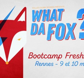 WHAT DA FOX ROLLER DERBY RENNES