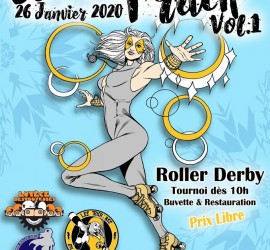 WINTER TRACK MY ROLLER DERBY TROYES TRICKASS