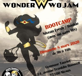Wonder Wojam Meaux My roller derby Bootcamp
